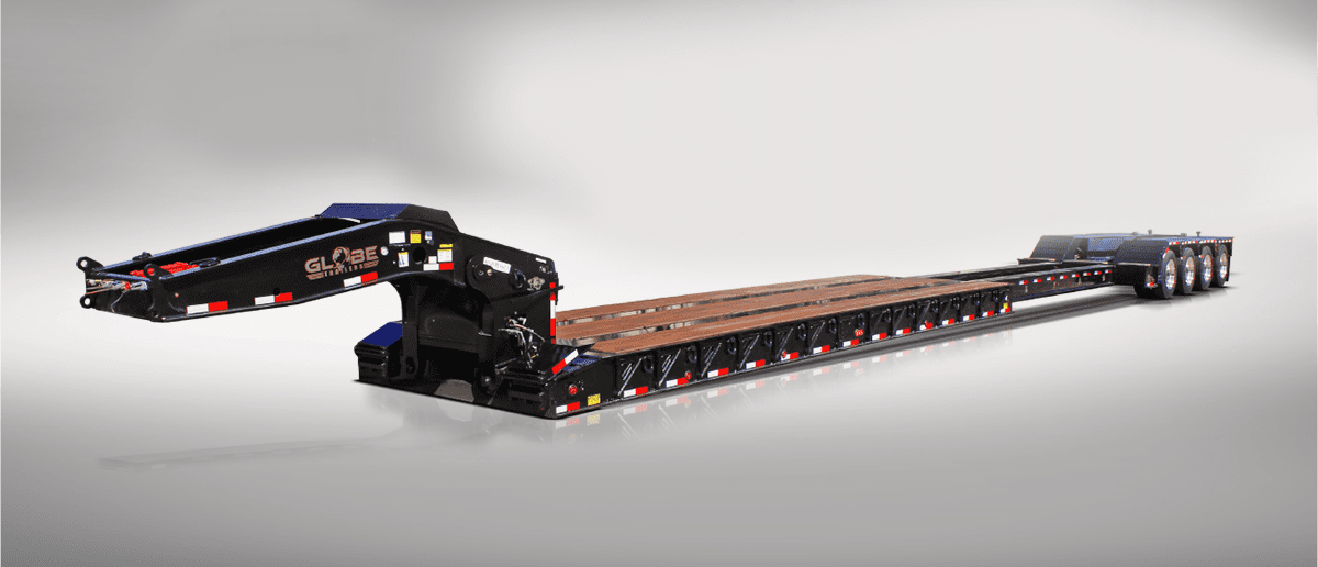 Extendable Lowboy Trailers